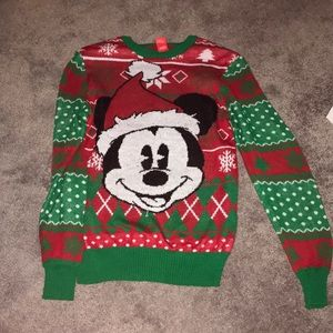 Mickey Xmas sweater